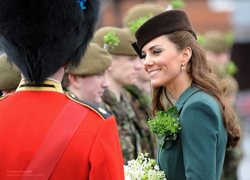 duchess kate on st. patricks day