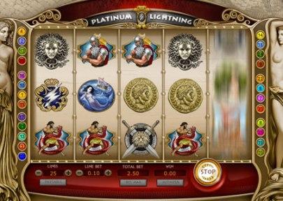 Platinum Lightning Slots