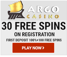 Argo Casino 30 free spins