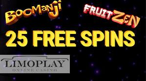 25 free spin LimoPLay