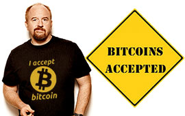 Louis CK Now Accepting Bitcoin