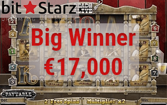 Bitstarz Just Gave €17,000 Away!