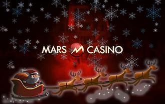 Mars Casino Christmas bonus