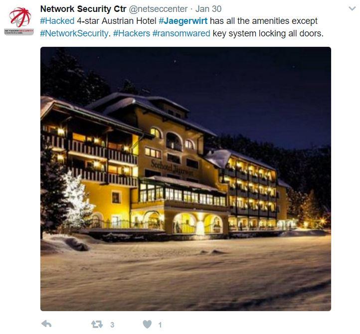 network-security-hotel-bitcoin-hackers-tweet