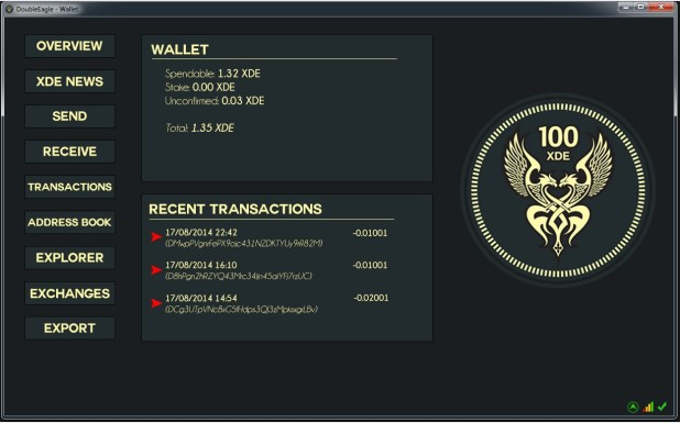 xde1-wallet