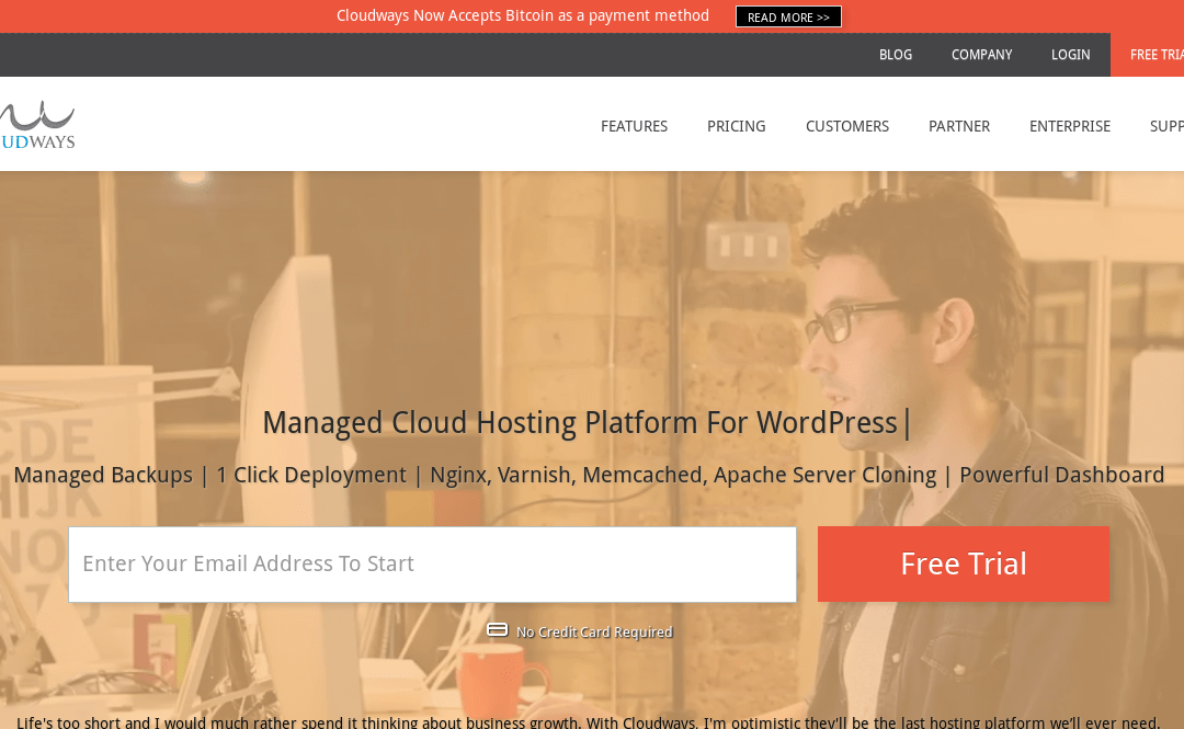 Bitcoin Now Accepted at Established Cloud Hosting Company Cloudways For All Web Hosting Services