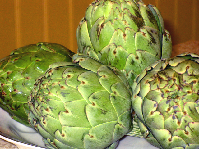 Mother's Day and Artichokes