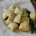 potato gnocchi with browned butter and crispy sage leaves
