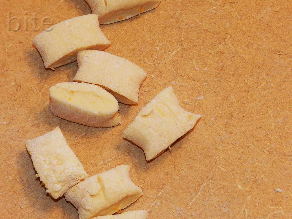 Lemon and Mascarpone Gnocchi