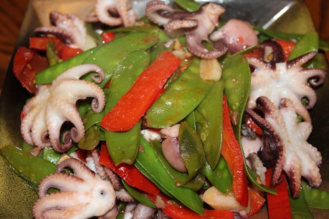 Baby octopus recipe. biteslife.com