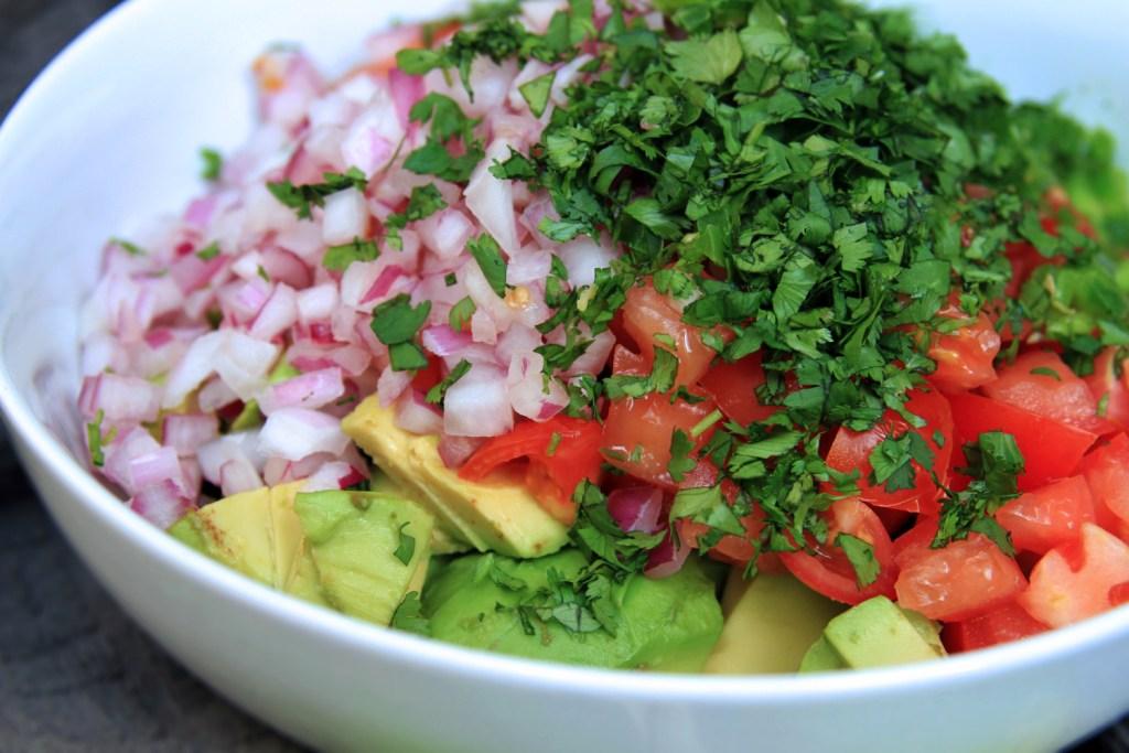 Guacamole Ingredients | Bites of Life