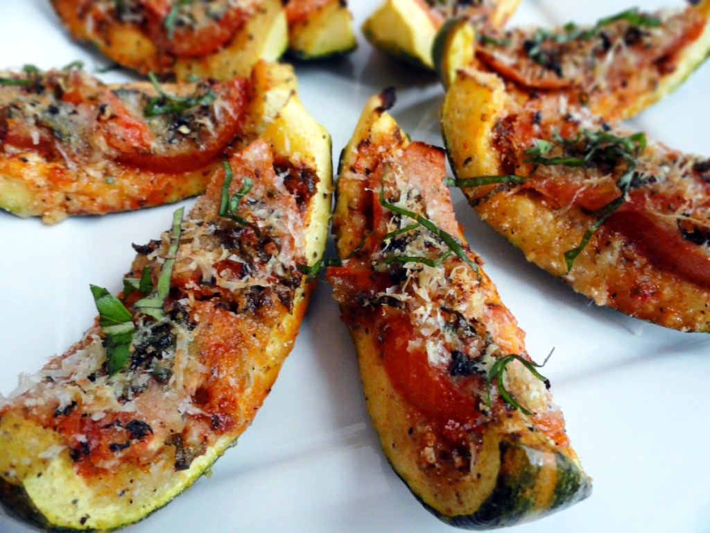 Spicy Italian Billiard Zucchini Boats | Bites of Life