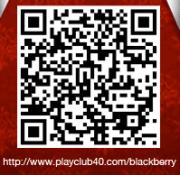 qr club40 Club40, juego ecuatoriano para Facebook, presenta su versión BlackBerry