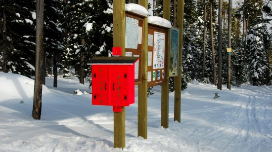 Sign-In Box at the Trailhead