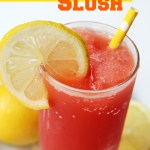 Cranberry Lemonade Slush