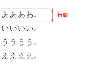 ワード_行間_1
