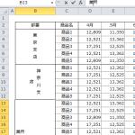 【Excel講座】表の中の見出しを縦書きにしてレイアウトを整える5つの手順