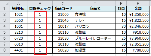 Excel_重複_カウント_4