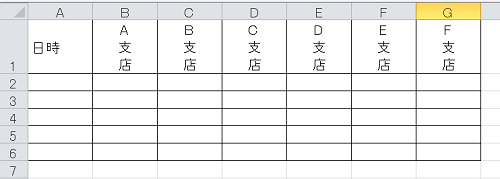 エクセル_縦書き_5