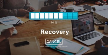55163814 - recovery crisis processing loading icon concept