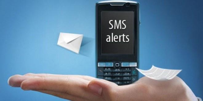 bank sms alert