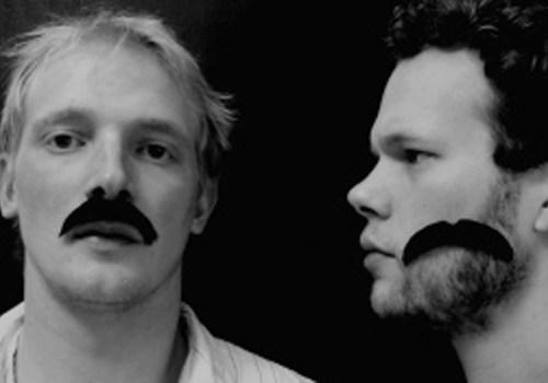 Andersen & Nielsens Lyrikkanon - billede forud for Roskilde Festival 2005