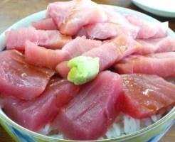 青森県のっけ丼&海鮮丼ランキング⑥マグロの本場大間で食べる!海峡荘の「まぐろだけ丼」