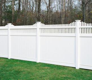 BK Outdoor Services Vinyl Fences