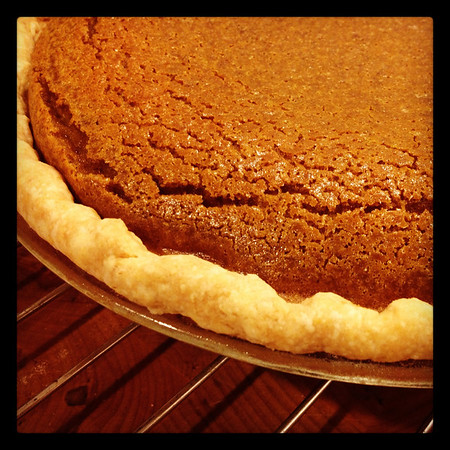 Pumpkin pie - make it 2-3 days ahead
