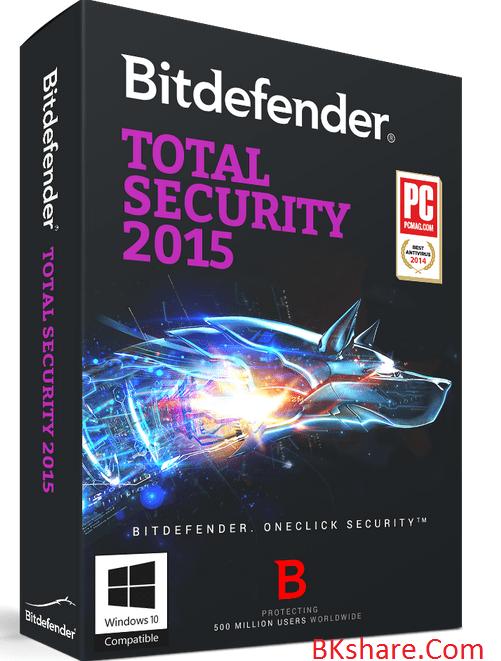 Bản quyền 6 tháng miễn phí Bitdefender Total Security 2015