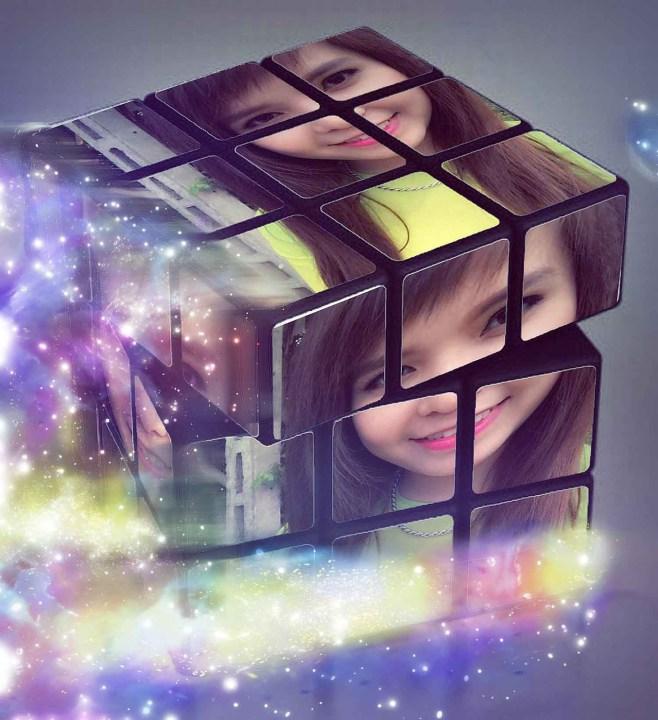 Hướng dẫn ghép ảnh vào Rubik đẹp bằng Photoshop