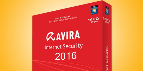 Download Avira Internet SecurityAntivirus Pro 2016 bản quyền đến 2099