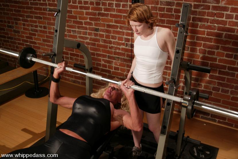 severe femdom spanking