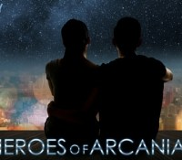 Cover Reveal: Heroes of Arcania by Liz Long