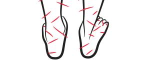 slider crop - feet