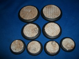 3x Brick Floor 50mm base inserts