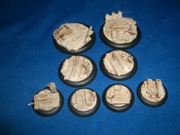 1x 50mm, 1x 40mm & 4x 30mm Swampland base inserts