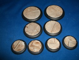 2x 50mm, 2x 40mm & 4x 30mm Grid Floor base inserts