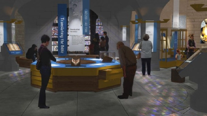 Guests at Museum of the Bible have the chance to journey through time, technology and culture to learn about the history of the Bible and the translation process. (PHOTO: MUSEUM OF THE BIBLE)