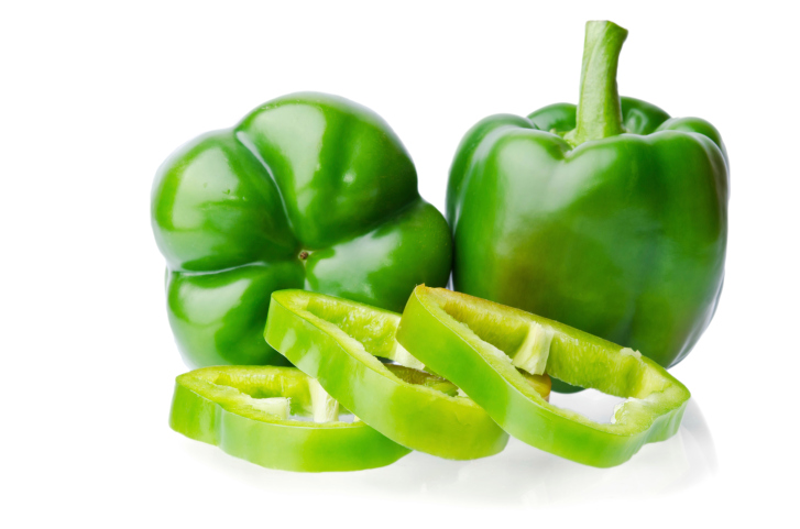 #6 Green Peppers