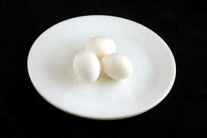 hard boiled eggs