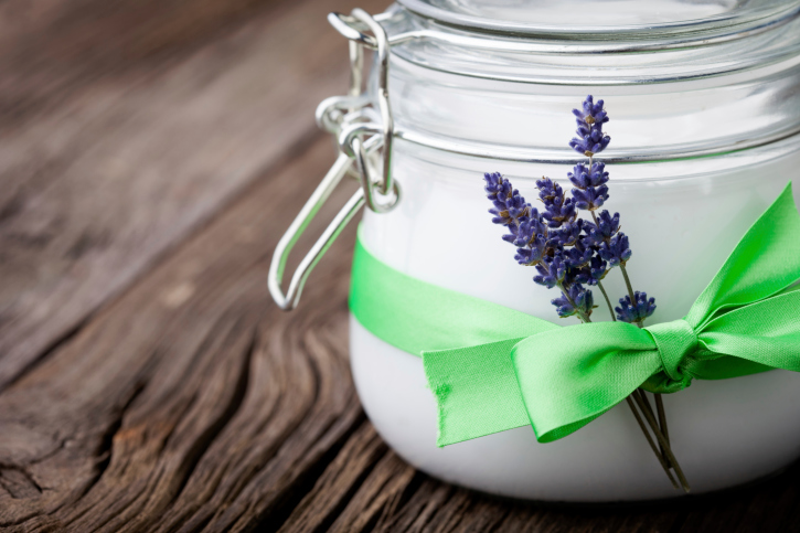 coconut and lavender butter
