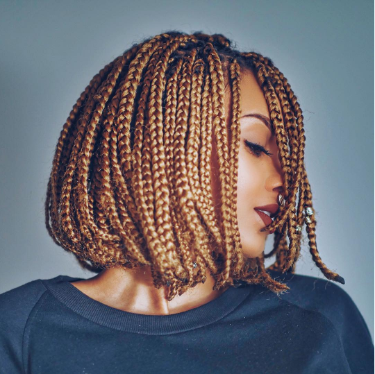 Braid protective style