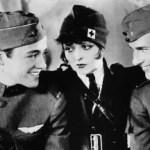 『つばさ』 飛行機乗りの青春 戦争 サイレント映画