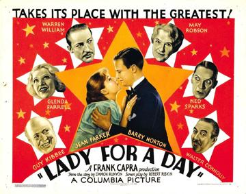 一日だけの淑女 フランク・キャプラ lady_for_a_day_1933