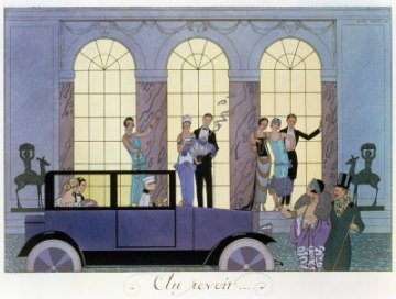 George Barbier Au Revoir Party