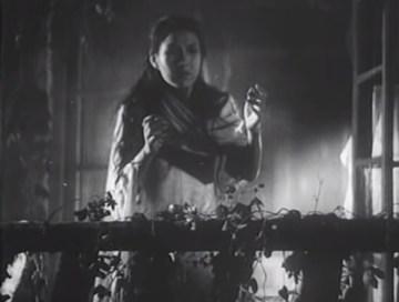 夜半歌声 1937 バルコニー