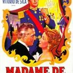 『たそがれの女心』マックス・オフュルス監督(1953) 美しいだけの浅墓な女のせいで決闘沙汰に