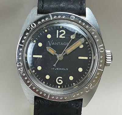 Vintage Vantage Dive Watch from the 1970's