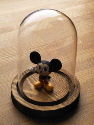 ガラスドーム ミッキーマウス